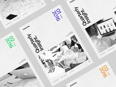 Dribbble - Quarterly Insight Mailer. by Olly Sorsby