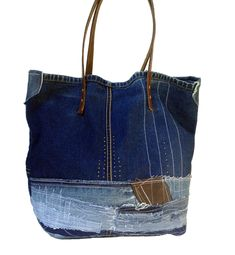 DENIM BAG, Denim Tote Bag, Denim Shoulder Bag, Borsa, Denim Handbag,Jeans Bag, Denim Tote, Raw Denim, Levi brand tote,Boho bag for women by ADENKIN on Etsy https://www.etsy.com/listing/385959334/denim-bag-denim-tote-bag-denim-shoulder