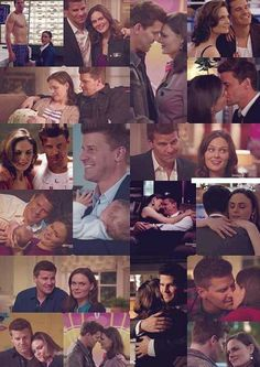 Collage of Booth and Brennan :)