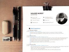 Pas besoin d'être graphiste pour avoir un beau CV. Même si évidemment, ça aide.