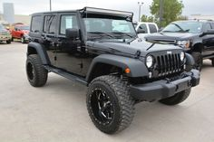 2015 Jeep Wrangler Unlimited Sport LIFTED 4x4 SUV $37,988 SOLD!