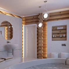 Baños de estilo escandinavo de A-partmentdesign studio