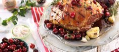 The sweetness of the cherries and the tartness of the balsamic vinegar work so well with the flavours of the smoky gammon. Balsamic Glaze, Balsamic Vinegar, Roast Gammon, Cherries, Recipies, Pork, Turkey, Cooking Recipes, Lovers