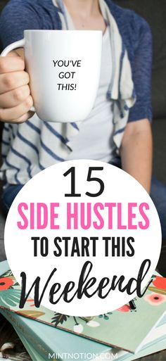 Want to make extra MONEY? Check out these awesome side hustle ideas! Work From Home | Start A Blog | Make Money Online