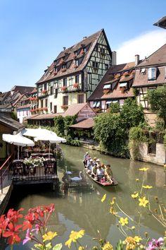 """Flânerie romantique à Colmar """"La Petite Venise"""", Alsace, France (Romantic stroll in Colmar """"The Little Venice"""", France)"""
