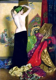 Pomps and Vanities, 1917. By John Collier. S)