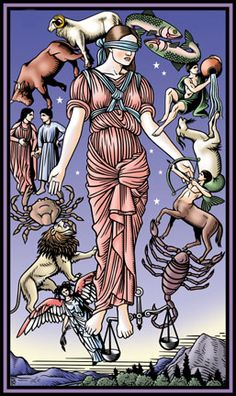 These illustrations are from Tarot artist Robert M. Place's newest deck, The Tarot of the Sevenfold Mystery