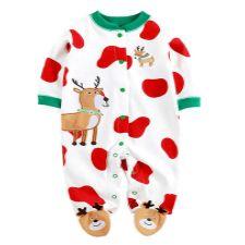 fa418a9bee pijamas-de-navidad-y-papá-noel-para-bebé-recién-nacido