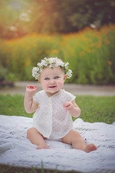 flower crown 6 months what to wear for pictures kids 6 month photoshoot