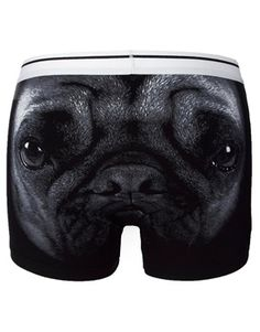 Image 1 of ASOS Trunks With Pug Print