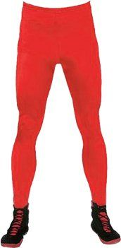 Wrestling Tights   Mens Red Cotton Spandex Tights 19.95 on amazon