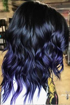 Maroon Hair Colors, Blue Purple Hair, Black Hair Ombre, Ombre Hair Color, Pastel Blue, Rainbow Pastel, Grey Ombre, Pink Blue, Navy Blue