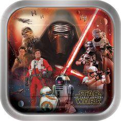 Square Star Wars Dinner Plates, 8ct, Plates - Amazon Canada