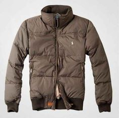 Ralph Lauren Polo Mens outlet Down jacket In Brown