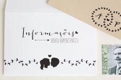 Oh So Beautiful Paper: Ana + Pedro's Modern Organic Wedding Invitations