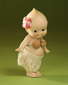 Kewpie Sekiguchi Authentic Collectible Doll Made Of Bisque Limited Edition. Old Dolls, Antique Dolls, Vintage Dolls, Retro Vintage, Cupie Dolls, Kewpie Doll, Doll Toys, Baby Dolls, Sonny Angel