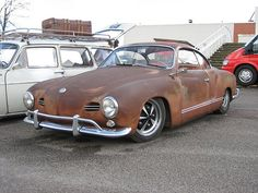 (Very) rat look Karmann Ghia by pauls, via Flickr