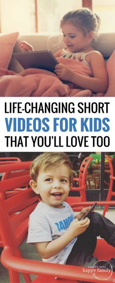 Forget Peppa Pig! These are the BEST short YouTube videos for kids because they share a meaningful life lesson without being annoyingly preachy. Bookmark this list of kid videos and save it for the next time your kid begs for a video! #videosforkids #kidsvideos #youtubevideo