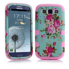 samsung galaxy s3 case,Ezydigital Flower Design Hybrid Cover Case for Samsung Galaxy III S3 i9300-Pink CBCarryberry http://www.amazon.ca/dp/B00KRV2XVG/ref=cm_sw_r_pi_dp_6LCzwb1QWSDQY