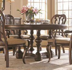 Contessa Single Pedestal Dining Table