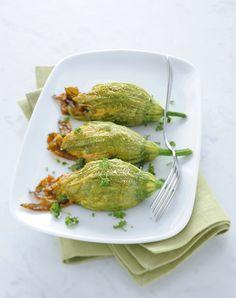 Fiori di zucca ripieni : Scopri come preparare questa deliziosa ricetta. Facile…