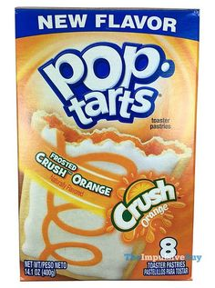 Kellogg's Frosted Crush Orange Pop-Tarts