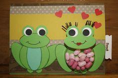 Stampin up Punchart lovely Frogs, auch diese Kartenidee stammt nicht von mir, ich habe sie im Netz gefunden und nachgewerkelt.