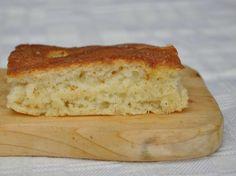 gluten free flat bread - Focaccia senza glutine con lievito madre