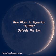 New Moon in Aquarius