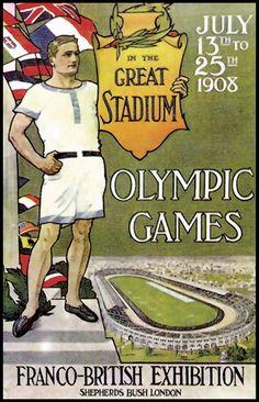 London 1908 Atlanta Centennial Summer Olympics Painstaking Commemorative Historical Pin
