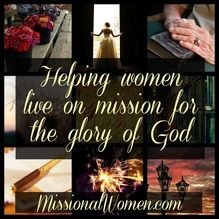 This new women's blog launches on Dec. 14th. Twenty authors want to encourage you to be on mission with God.