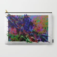 Exposed Color Carry-All Pouch