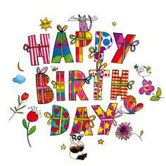 Happy birthday uploaded by eladvi on We Heart It Happy Birthday Greetings Friends, Happy Birthday Wishes Cake, Birthday Cheers, Happy Birthday Pictures, Birthday Blessings, Happy 2nd Birthday, Happy Birthday Messages, Happy Birthday Quotes, Happy Bird Day