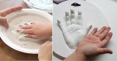 Conservez un souvenir adorable vous aussi! Games For Kids, Diy For Kids, Activities For Kids, Newborn Photography Tips, Baby Mold, Plaster Crafts, Baby Hands, Classroom Activities, Diy Painting