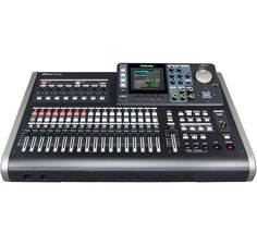 Along with their inventory of smaller portable recording studios, Tascam maintains a line of more elaborate, detailed and capable all-in-one console recorders.