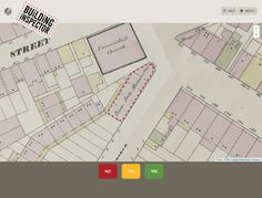 "NYPL Labs, a technology and design unit created in 2011 to boost the library's presence on the actual internet has new tool. ""Building Inspector"" is a ""ReCaptcha"" of Urban maps.  Building Inspector allows you to play around with digitized fire insurance maps of New York City from the 1850s and 1860s and improve the accuracy of the digital versions in the process."