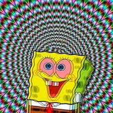 trippy SpongeBob