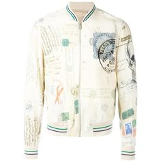 Alexander McQueen stamped bomber jacket ($1,895) ❤ liked on Polyvore featuring men's fashion, men's clothing, men's outerwear, men's jackets, nude and mens leopard print jacket