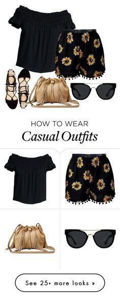 """""""3"""" by vicinogiovanna on Polyvore featuring Canvas by Lands' End, Marc Fisher, Diane Von Furstenberg, Quay, Flowers, floralprint, summeroutfit, polyvorecommunity and polyvoreeditorial"""