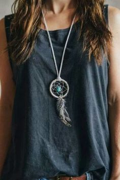 Dreamcatcher necklace. Avyanna
