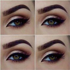 beautiful makeup for hazel eyes - Google Search