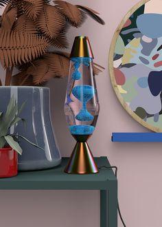 Lava Lamp 1 & 2 — 3D Illustration - Anny Wang