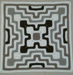 Modern Crochet Patterns, Crochet Blanket Patterns, Stitch Patterns, Afghan Patterns, Baby Patterns, Crochet Chart, Free Crochet, Double Crochet Baby Blanket, Granny Pattern