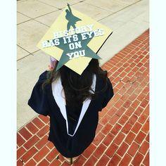 Hamilton Graduation Cap - History Has Its Eyes On You