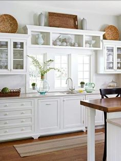 The introduction of the kitchen island has lent more flexibility to the positioning of the kitchen cabinets and kitchen sink, and helped make open plan kitchens and dining rooms a reality. Description from pinterest.com. I searched for this on bing.com/images