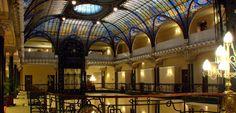 Art Nouveau - Gran Hotel Ciudad de México - Verrière et Vitraux - Tiffany - Vers 1900