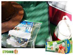Bolsa multiuso STOREit, ideal para guardar el libro que quieres que te acompañe en tus noches de camping.