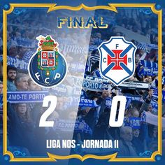 Final de Jogo / End of the match / Final del Partido 42' [1-0] Héctor Herrera  90' [2-0] Vincent Aboubakar   #FCPorto #FCPCFB