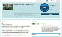 Dentists on the run. Edinburgh 10K raising money for Dentaid