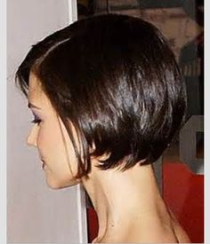 Love this hair cut!  Super cute bob.